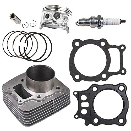 et Top End Rebuild Kit 2000-2006 Honda Rancher TRX350 12100-HN5-670 13010-HN5-671 ()