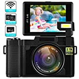 Best Blogging Cameras - Digital Camera with WiFi 24MP 2.7K HD Video Review