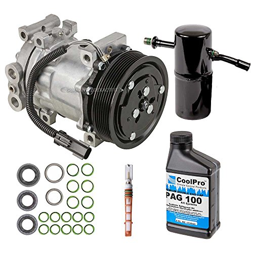 New AC Compressor & Clutch With Complete A/C Repair Kit For Dodge Dakota - BuyAutoParts 60-80120RK New