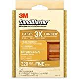 3M Between Coats Sanding Sponge, Fine Grit, 4.5-Inch by 5.5-Inch