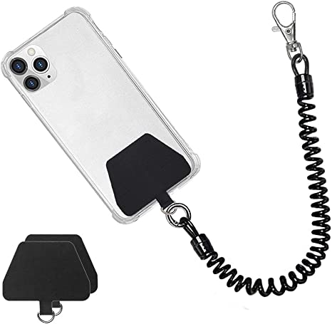 Metal Chain Neck Strap String Holder Necklace Universale for iPhone Cell Phone Landyard Smartphone with Full-Cover Cases Samsung