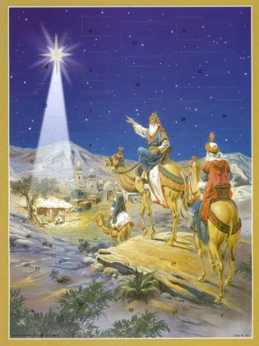 - Pinnacle Peak Trading Company Three Kings German Advent Calendar Wisemen Christmas Countdown Bible Verses