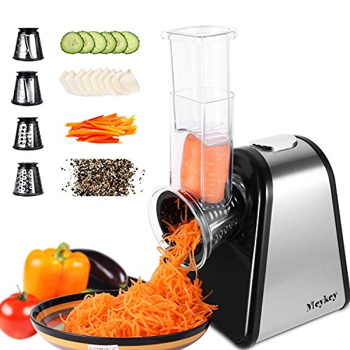 Professional Salad Maker, Electric Slicer Shredder/Graters (black)