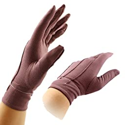Power Ionics 1pair(2pcs) Far Infrared Ray Magnetic Fiber Breathable Arthritis Gloves Blood Circulation