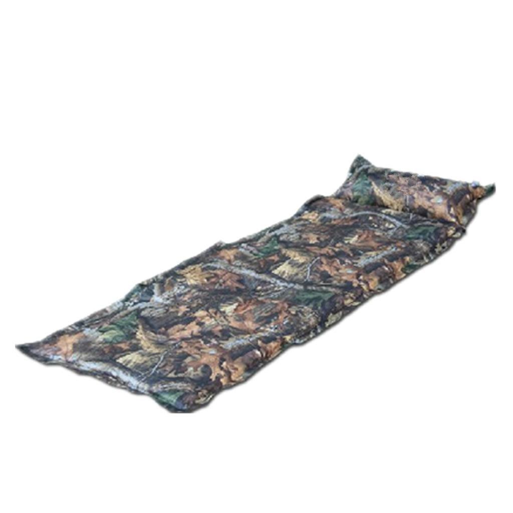 DZW Outdoor-Camouflage Feuchtigkeit automatisch aufblasbare Kissen Luftkissen Bett Mittagspause kann Boden Matte Splice
