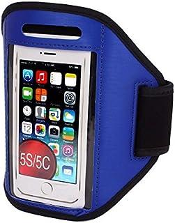Sport Courir Case Jogging Gym Armband Holder Bleu pour iPhone 5 5C 5S