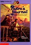 Front cover for the book Pedro's Journal by Pam Conrad
