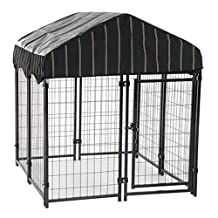 Lucky Dog CL 60445 55-Inch H X 4-Feet Width X 4-Feet Length Pet Resort Kennel with Cover