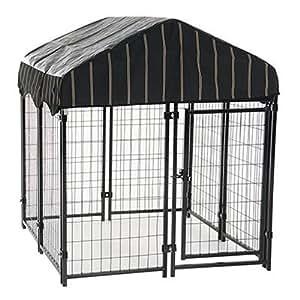Amazon Com Lucky Dog Heavy Duty Dog Cage Outdoor Pet