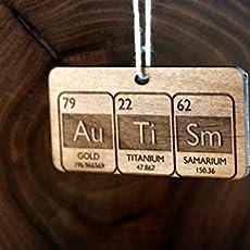 Amazon.com: Autism Periodic Table Christmas Ornament: Handmade