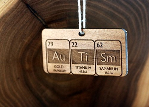 Amazon autism periodic table christmas ornament handmade autism periodic table christmas ornament urtaz Image collections