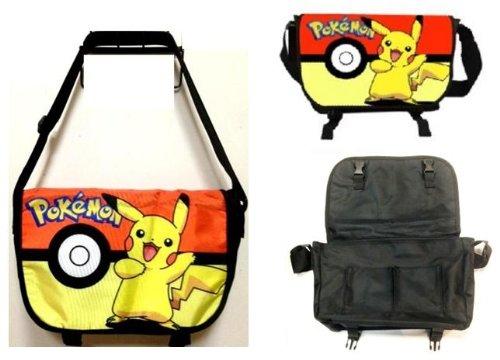 Pokemon Messenger Bag with Pikachu and Pokeball ()