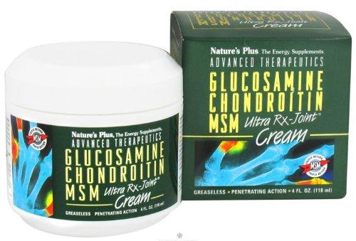 De la nature et Glucosamine chondroïtine MSM-Ultra RX-Joint crème--4 fl oz