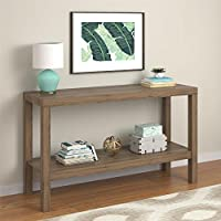 Parsons Console Table, RUSTIC OAK