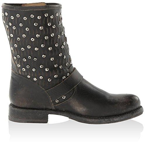 Cut Boots Stud Frye3476347 Black Women Jenna 5wxAAH