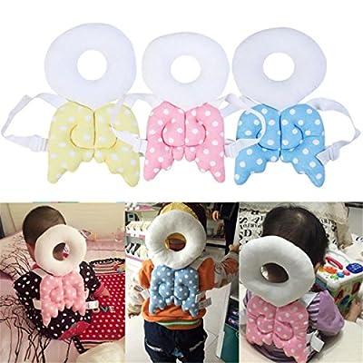 LKXHarleya Baby Toddlers Head Protective Toddler Headrest Protection Pad Toddler Head Nursing Safety Cushion