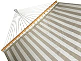 SueSport NEW Hammock Quilted Fabric with Pillow Double Size Spreader Bar Heavy Duty