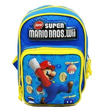 Mini mochila - Nintendo - Super Mario Bros - salto nuevo bolso de escuela nn6807 - 2: Amazon.es: Deportes y aire libre