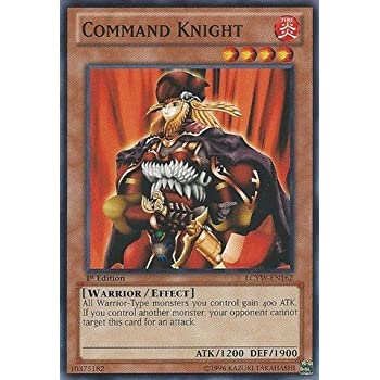 Amazon Com Yu Gi Oh Command Knight Lcyw En162