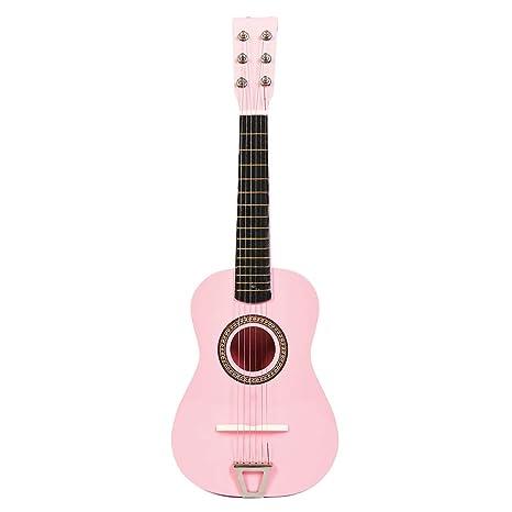 MRKE Ukelele Principiantes Guitarra Niño 23 Pulgada 6 Cuerdas Juguete de Instrumentos Musicales para Infantil Niño
