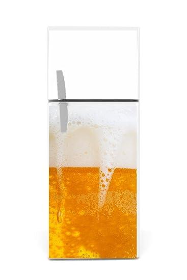 Kühlschrank Aufkleber Bier 90 X 60cm Amazonde Garten