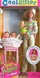 (US) Barbie - Cool Sitter Teen Skipper Doll w/ 4 Babies Quadruplets! (1998)