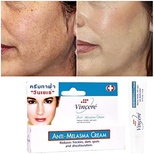 12×VINCERE CREAM FOR ANTI MELASMA,FRECKLES,AGE SPOTS,SUN SPOTS,PIGMENTATION by SiamShoppingMall
