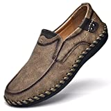 Best Driving Shoes - Tisomen Moccasins Mens Shoes Casual Suede Leather Loafers Review