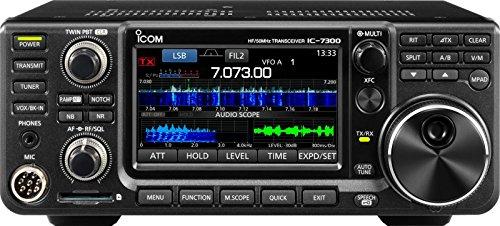 Radio Receiver Ic (ICOM 7300 02 Direct Sampling Shortwave Radio Black)