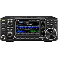 Icom Original IC-7300 HF/50 MHz Direct Sampling Base Transceiver with Touch Screen Color TFT LCD, 100 Watts