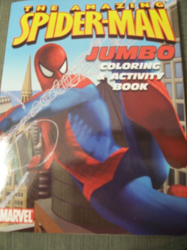 (The Amazing Spiderman JUMBO Coloring & Activity Book (In)
