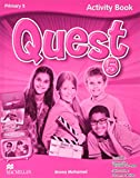 Quest Primary 5 (Activity Book, Grammar Builder, CD-ROM - Interactive Activities)