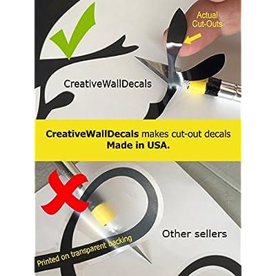 CreativeWallDecals Vinyl Wall Decal Sticker Road Track Race Moto Car Boy Man Gift Kids Room R1826: Home & Kitchen