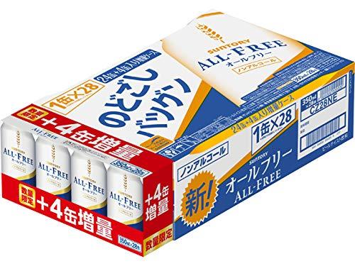 【4本増量】 サントリー オールフリー 増量 [ ノンアルコール 350mlx28本 ]