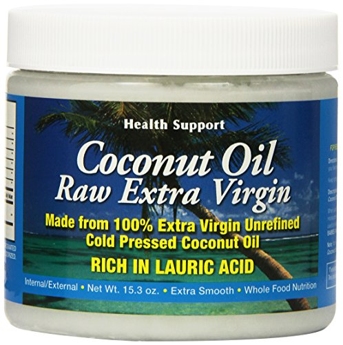 Health Support Raw Coconut Oil, 15.3 Fluid Ounce from Health Support