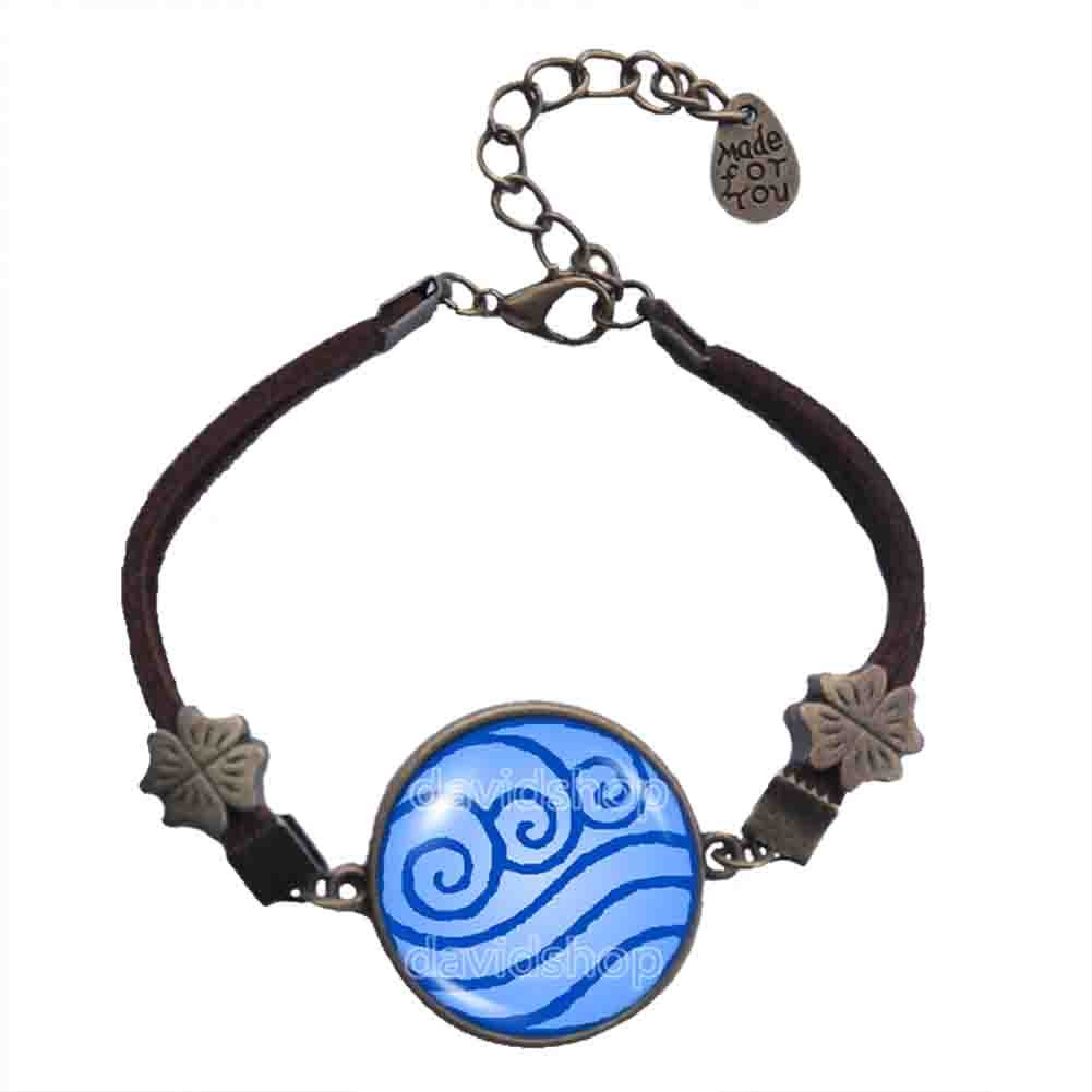 Amazon avatar the last airbender bracelet water tribe symbol amazon avatar the last airbender bracelet water tribe symbol pendant legend of korra fashion jewelry cute gift handmade biocorpaavc Image collections