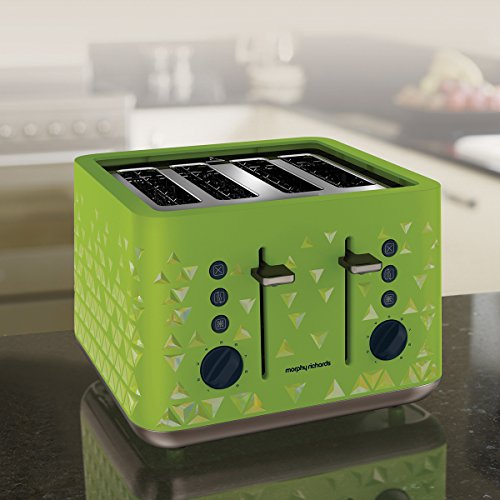 Morphy Richards 248105 Prism Toaster - Green