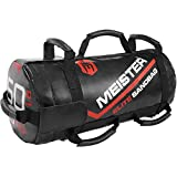 Meister 50lb Elite Fitness Sandbag Package w/ 3 Removable Kettlebells - Black