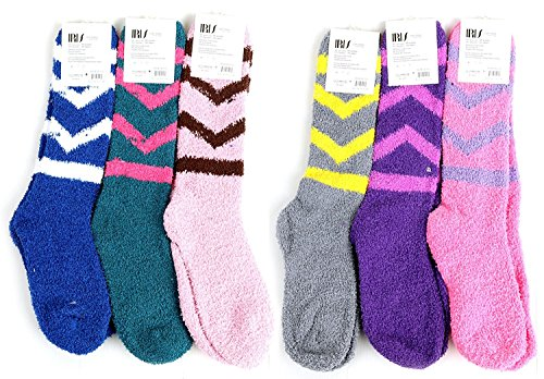 Pairs Womens Fuzzy Socks Winter