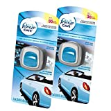 Febreze  Air Freshener, Car Vent Clip Air Freshener,  New Car Air Freshener, 2 Count