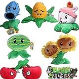OLIA DESIGN OliaDesign Plants vs Zombies Plush Toy Set (6 Pieces)