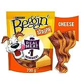 Beggin' Strips Dog Treats, Cheese Flavour Snacks - 708 g