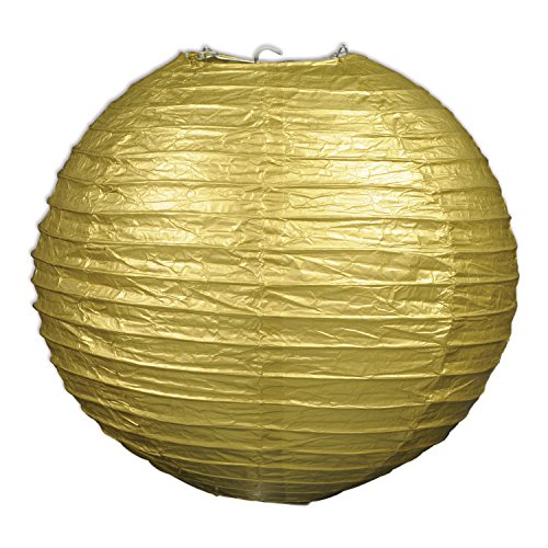 Beistle 54570 GD Piece Paper Lanterns