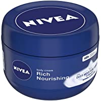 NIVEA Body Cream, Rich Nourishing, For Normal to Dry Skin, 250 ml