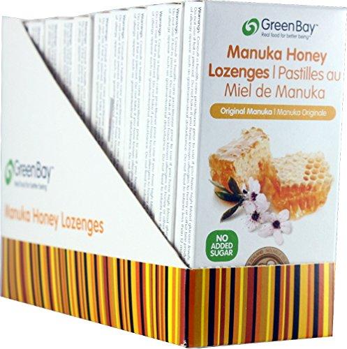 Green Bay Harvest Original Manuka Honey Lozenges (12 Packets)