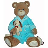 16 Adorable Plush GET WELL SOON Teddy Bear BOUNCE BACK JACK Soft & Cuddly/Illness/HOSPITALIZATION/Brighten SOMEONE'S DAY! SICKNESS/ILLNESS/BOY/Blue by K&G