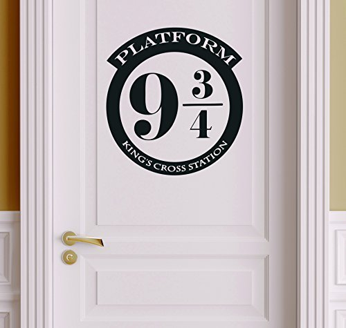 Platform 9 3/4 Version 1 Harry Potter Decor - Wall Decal Vin