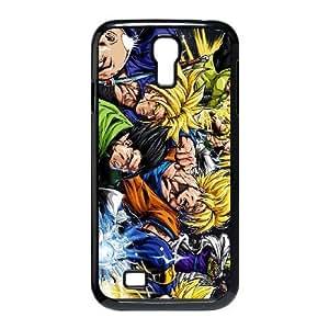 CARACTERES DRAGON BALL Z 1 funda Samsung Galaxy S4 9500 caja del teléfono celular Funda cubierta de color negro, funda de plástico caja del teléfono celular