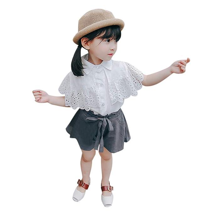 wholesale dealer 1d213 01e68 BaZhaHei Completi Bambina Estate Outfits,Infantile Bambino ...