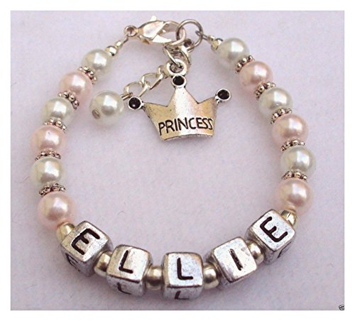 bracelet-girls-baby-child-name-personalized-pearl-princess-charm-pink-white-handmade